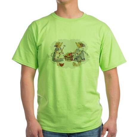 Girls Garden Green T-Shirt