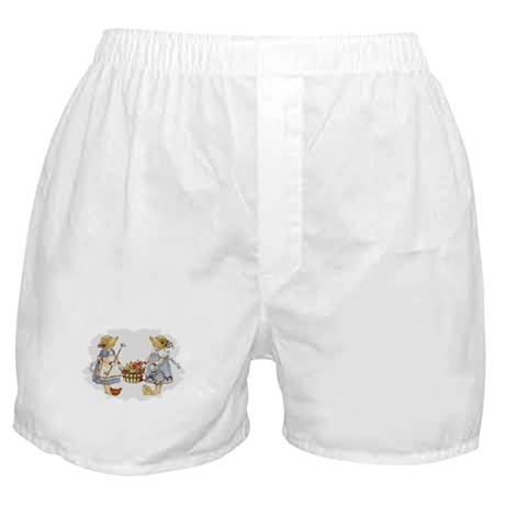 Girls Garden Boxer Shorts