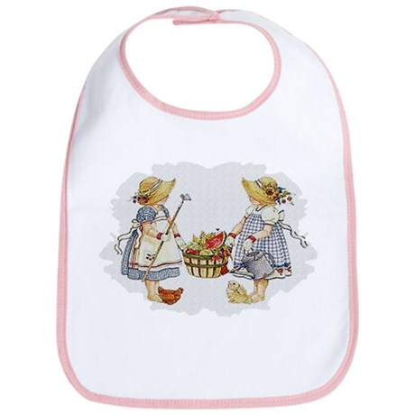 Girls Garden Bib
