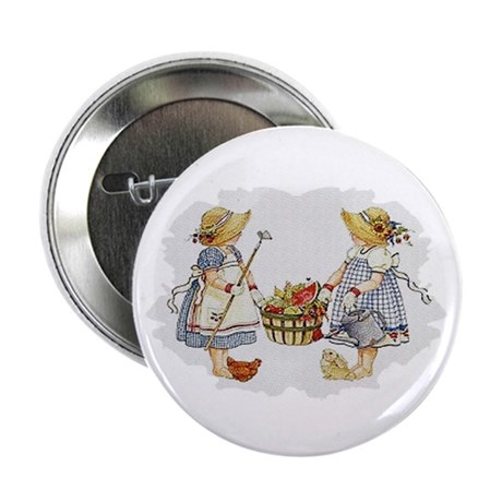 "Girls Garden 2.25"" Button (100 pack)"