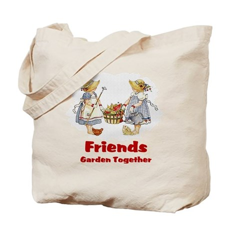 Friends Garden Together Tote Bag