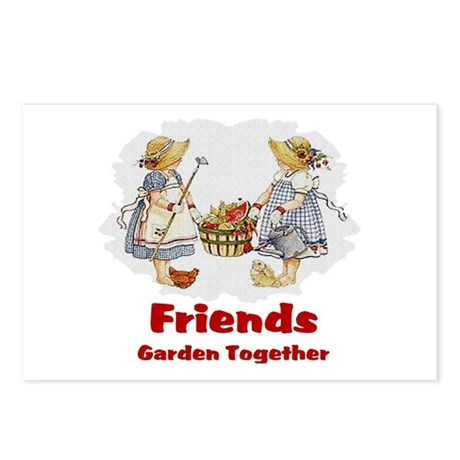 Friends Garden Together Postcards (Package of 8)