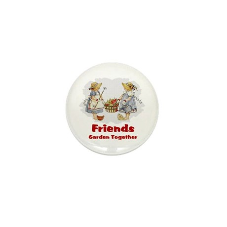 Friends Garden Together Mini Button (10 pack)