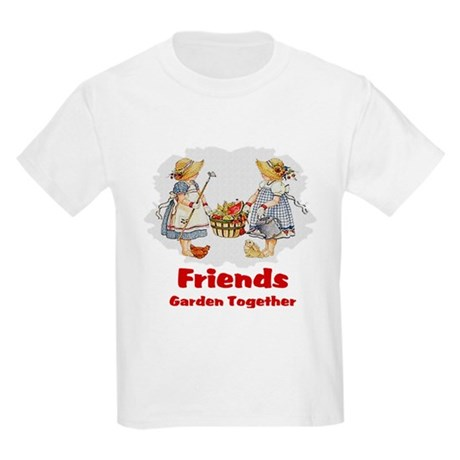 Friends Garden Together Kids Light T-Shirt