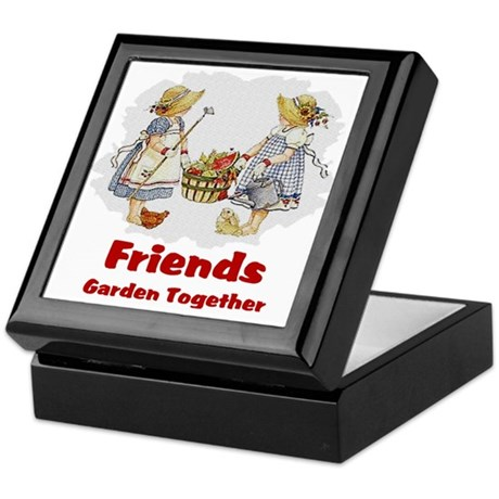 Friends Garden Together Keepsake Box