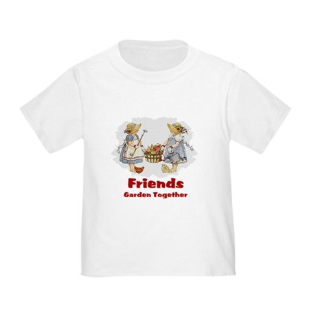 Friends Garden Together Toddler T-Shirt