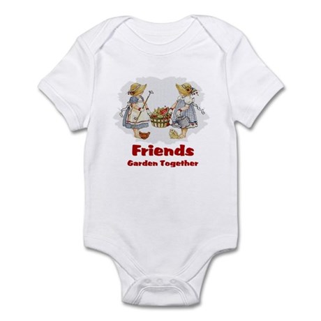 Friends Garden Together Infant Bodysuit