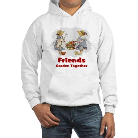 Friends Garden Together Hooded Sweatshirt