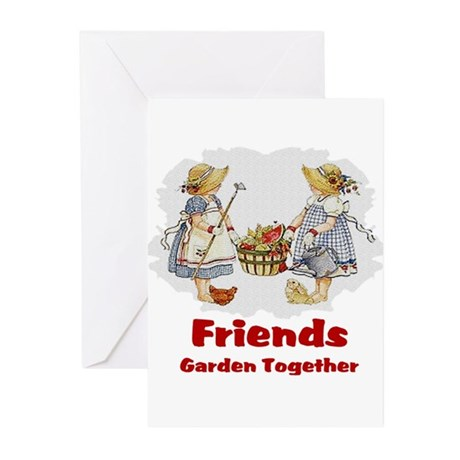 Friends Garden Together Greeting Cards (Pk of 10)