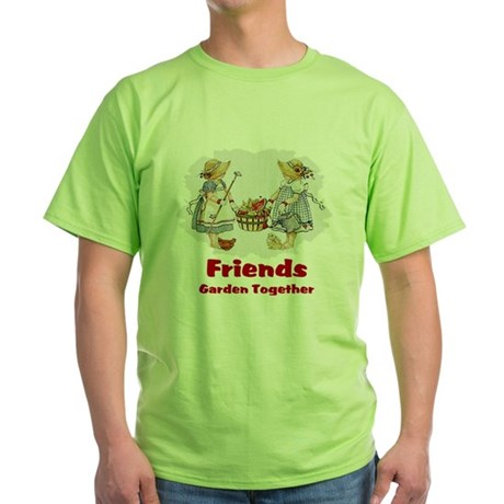 Friends Garden Together Green T-Shirt