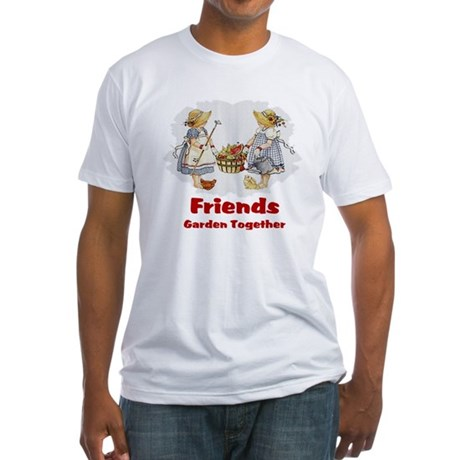 Friends Garden Together Fitted T-Shirt