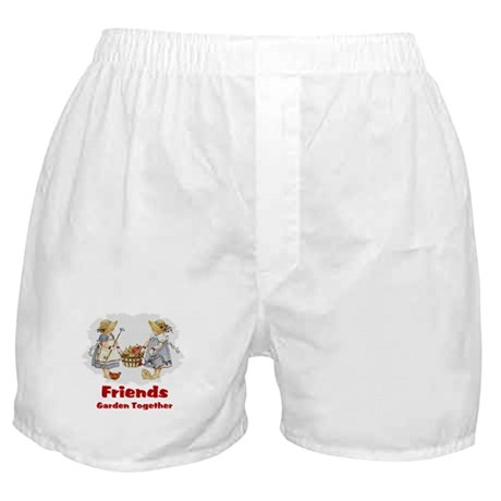 Friends Garden Together Boxer Shorts