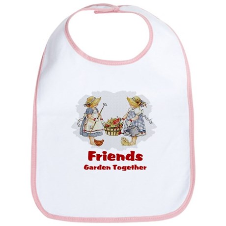 Friends Garden Together Bib