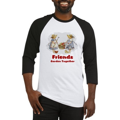 Friends Garden Together Baseball Jersey