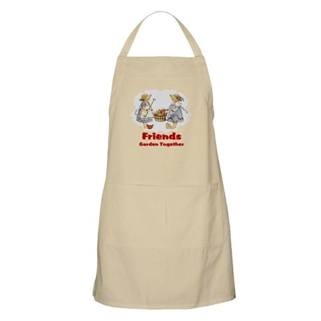 Friends Garden Together BBQ Apron