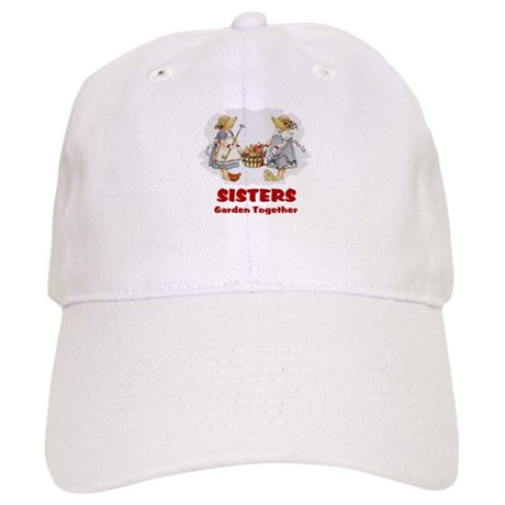Sisters Garden Together Cap