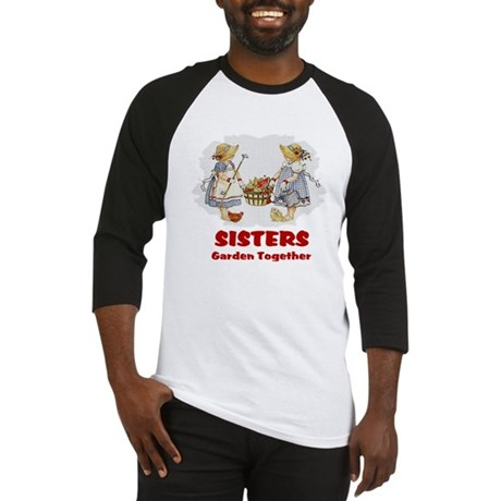 Sisters Garden Together Baseball Jersey