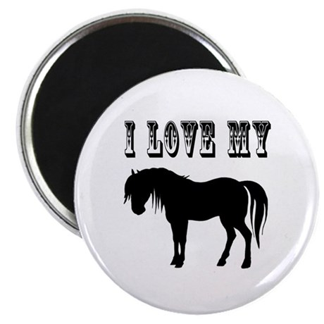 I Love My Pony Magnet