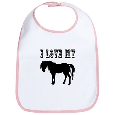 I Love My Pony Bib