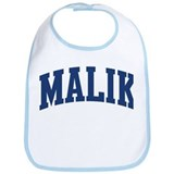 MALIK design (blue) Bib