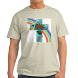 Blue Noah's Cross T-Shirt