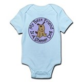 My Best Friend is a Shelter D Infant Bodysuit