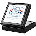 Clinton / Obama 2008: Great for America Keepsake B