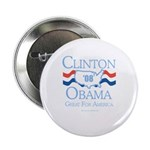 Clinton / Obama 2008: Great for America 2.25