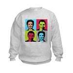 Clinton / Obama 2008 Kids Sweatshirt