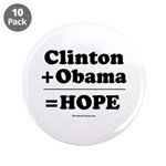 Clinton + Obama = Hope 3.5