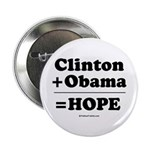 Clinton + Obama = Hope 2.25