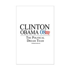 Clinton/Obama: The Dream Team Posters