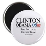 Clinton/Obama: The Dream Team Magnet