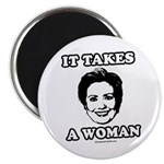 Hillary Clinton: It takes a woman 2.25