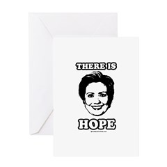 Hillary Clinton: There is hope Greeting Card