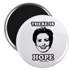 Hillary Clinton: There is hope Magnet