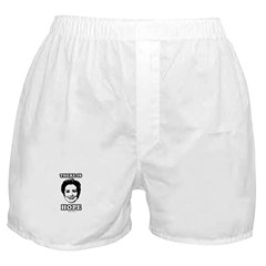 Hillary Clinton: There is hope Boxer Shorts
