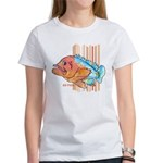 Cartoon Fish Grouper Women's T-Shirt