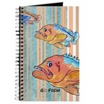 Cartoon Fish Grouper Journal