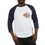 Cartoon Fish Grouper Baseball Jersey