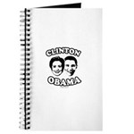 Clinton + Obama Journal