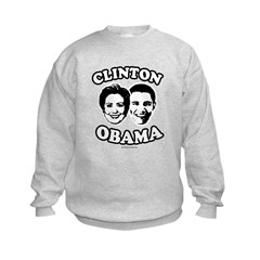 Clinton + Obama Kids Sweatshirt