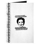 One day a woman will be president Journal