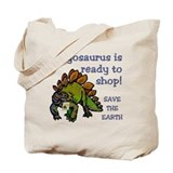 Stegosaurus Shopping Bag