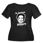 Te quiero Hillary Clinton Women's Plus Size Scoop