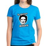 Te quiero Hillary Clinton Women's Dark T-Shirt