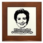 Hillary Clinton: It's time for a woman on top Fram