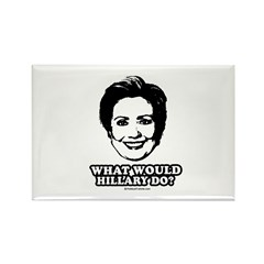 Hillary Clinton: What would Hillary do? Rectangle