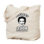 Hillary 2008: No penis no problems Tote Bag