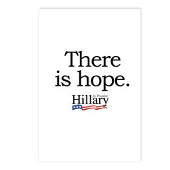 There is hope: Hillary 2008 Postcards (Package of